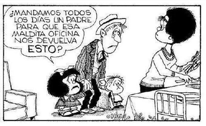 Mandamos todos los días un padre... #MafaldaQuotes https://t.co/eV4DiSKdV8