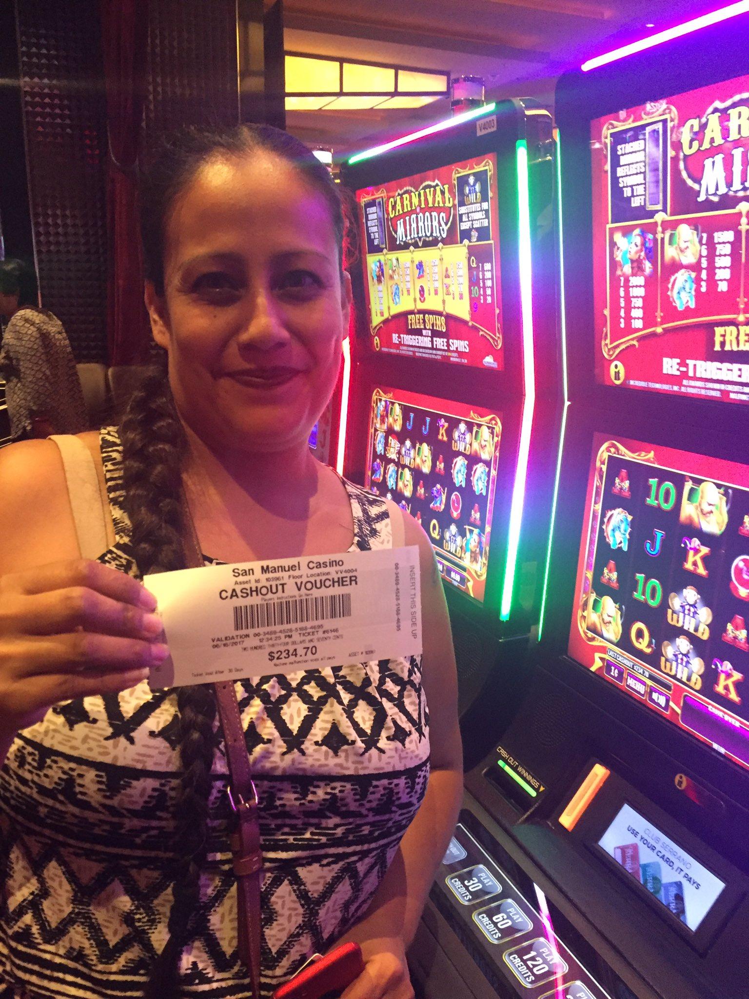Age to enter san manuel casino no deposit