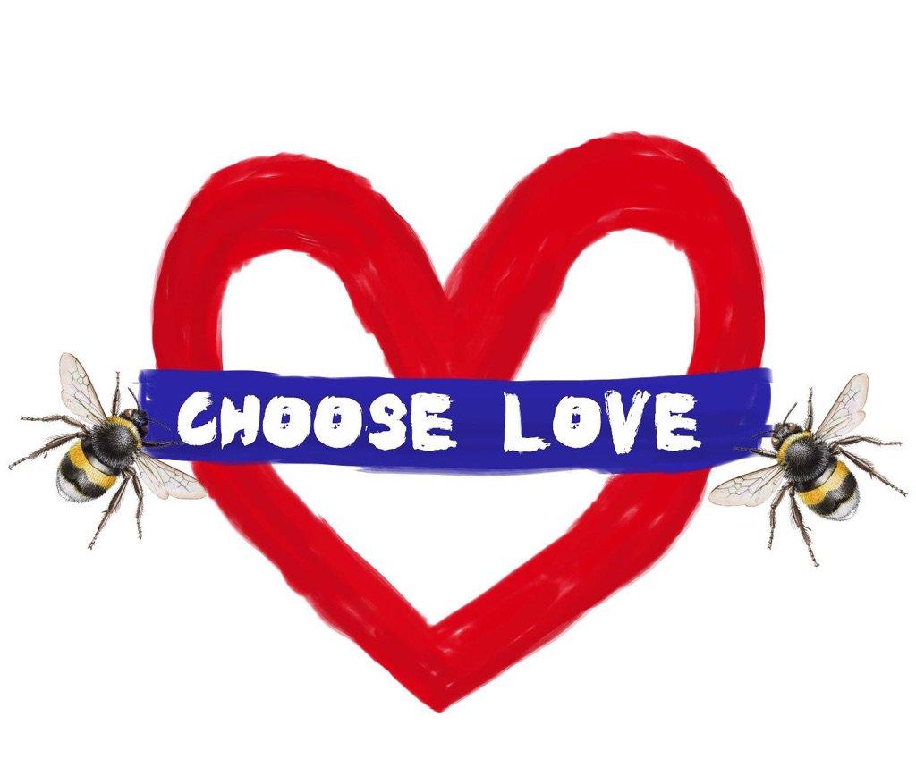 Choose love #moreincommon https://t.co/aDTNnI82C0