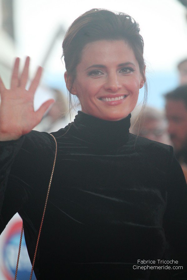 The beautiful Stana Katic on @festivaltvmc  red carpet for the premiere of Absentia #Absentia #StanaKatic #FTV17 #Castle #MonteCarlo<br>http://pic.twitter.com/NYu4lRDBqO