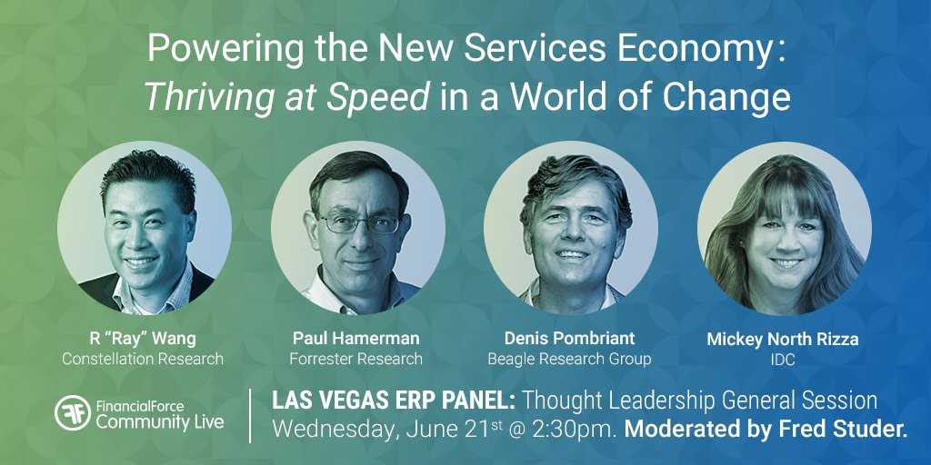 We're excited to hear insights from our ERP Panel at #FFComm17! @rwang0 @paulhamerman @DenisPombriant @MNorthRizza https://t.co/6YFacygrgv https://t.co/rDlfLkZvZL