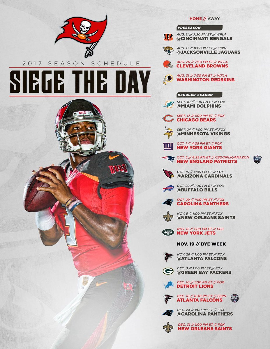 cb1e3463 Tampa Bay Buccaneers on Twitter: