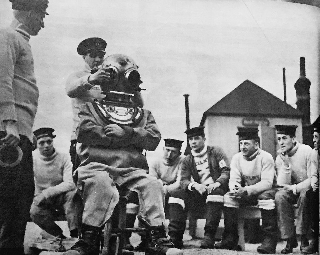 """@vintagepixuk @KilwarrenJohn @deedeesadler @DottyVintage1 """"Boys,because of Government cutbacks only one helmet between. seven of https://t.co/N64PATphSX are at liberty to bring goldfish bowls"""" https://t.co/DFQGuCDTZ7"""