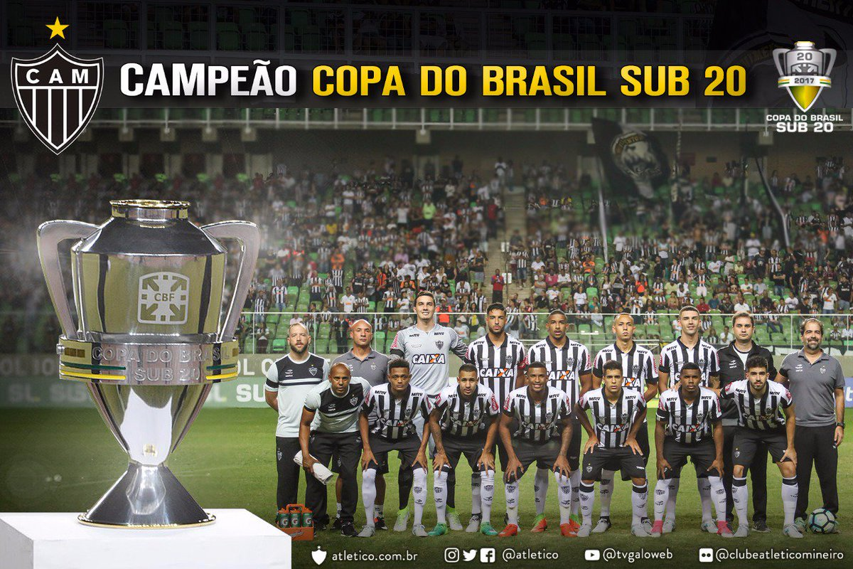 É CAMpeãããooo! É CAMpeãããooo! Galinho vence o Flamengo, na disputa de pênaltis, e conquista o título da Copa do Brasil Sub-20! Vamos, #Galo!