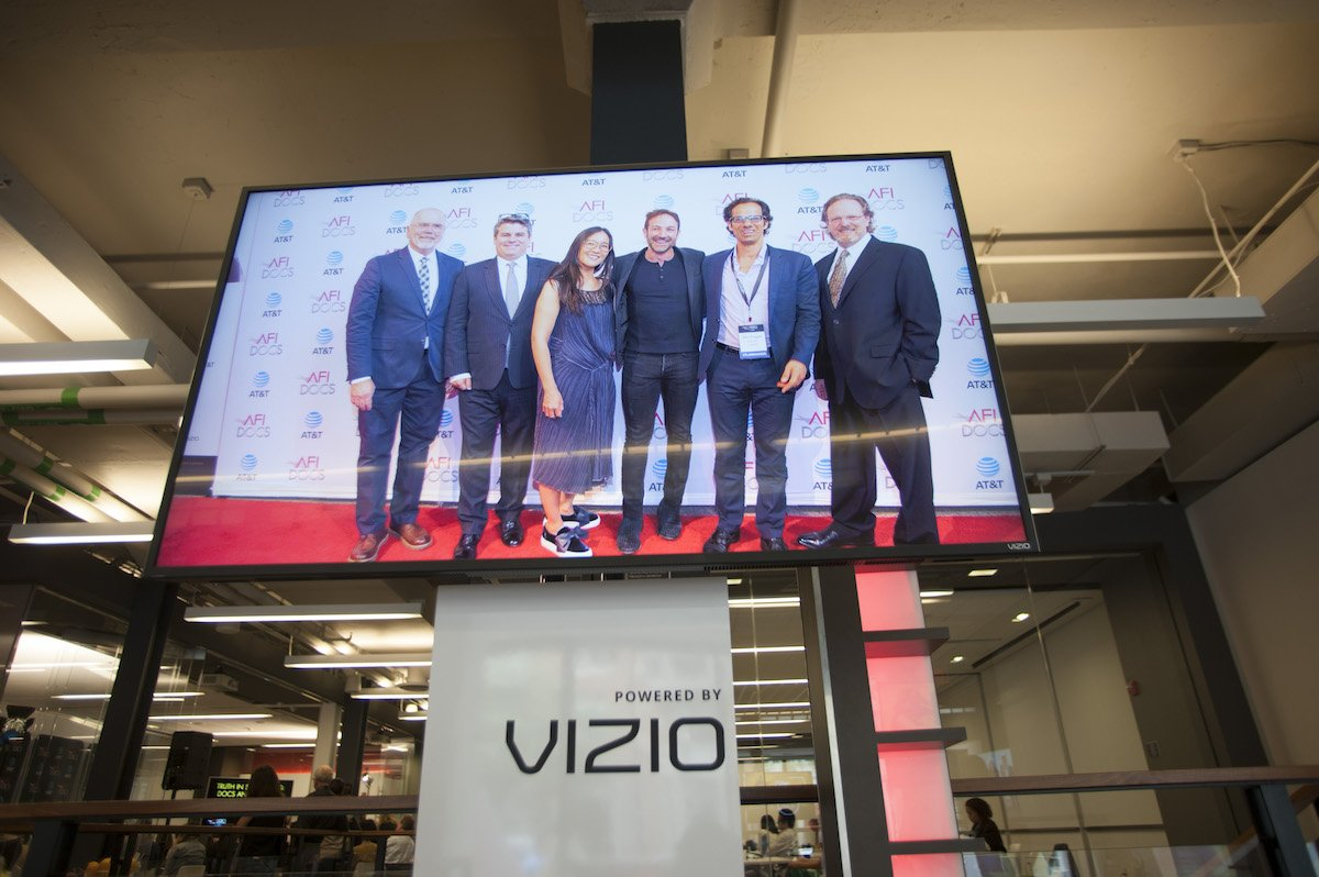 Thank you @VIZIO for your support of #AFIDOCS 2017! https://t.co/XvF5HeBl4Q
