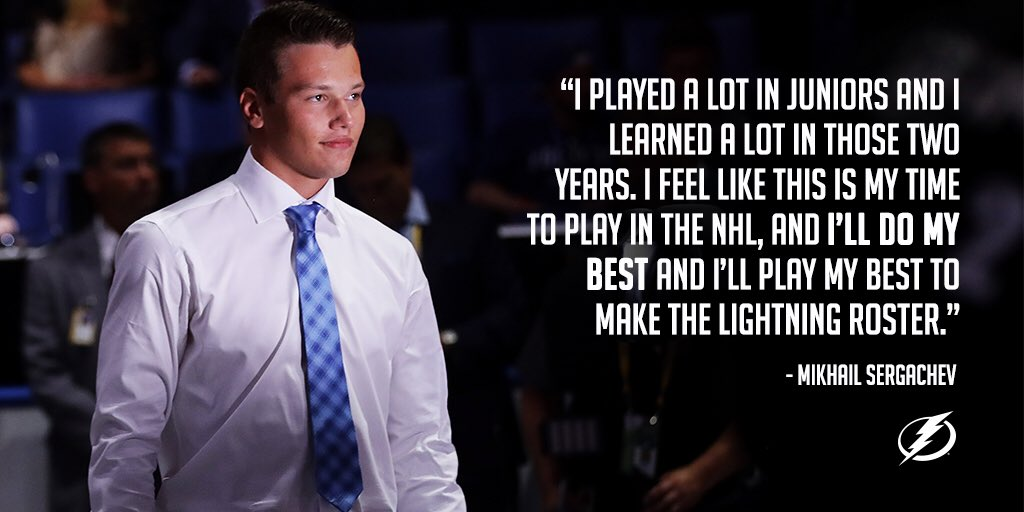 Tampa Bay Lightning on Twitter A new face on the blueline