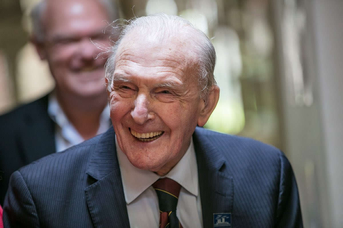 MBE for #Lincolnshire born George 'Johnny' Johnson, last surviving British #Dambuster in #QueensBirthdayHonours https://t.co/UlrI5h51vL