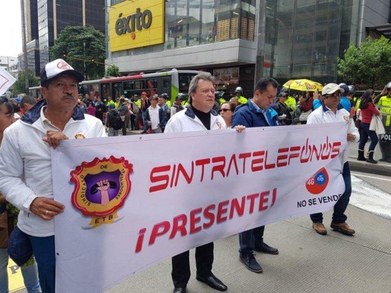 Comunicado dirigido a los trabajadores afiliados a Sintratelefonos, administración y contratistas de ETB