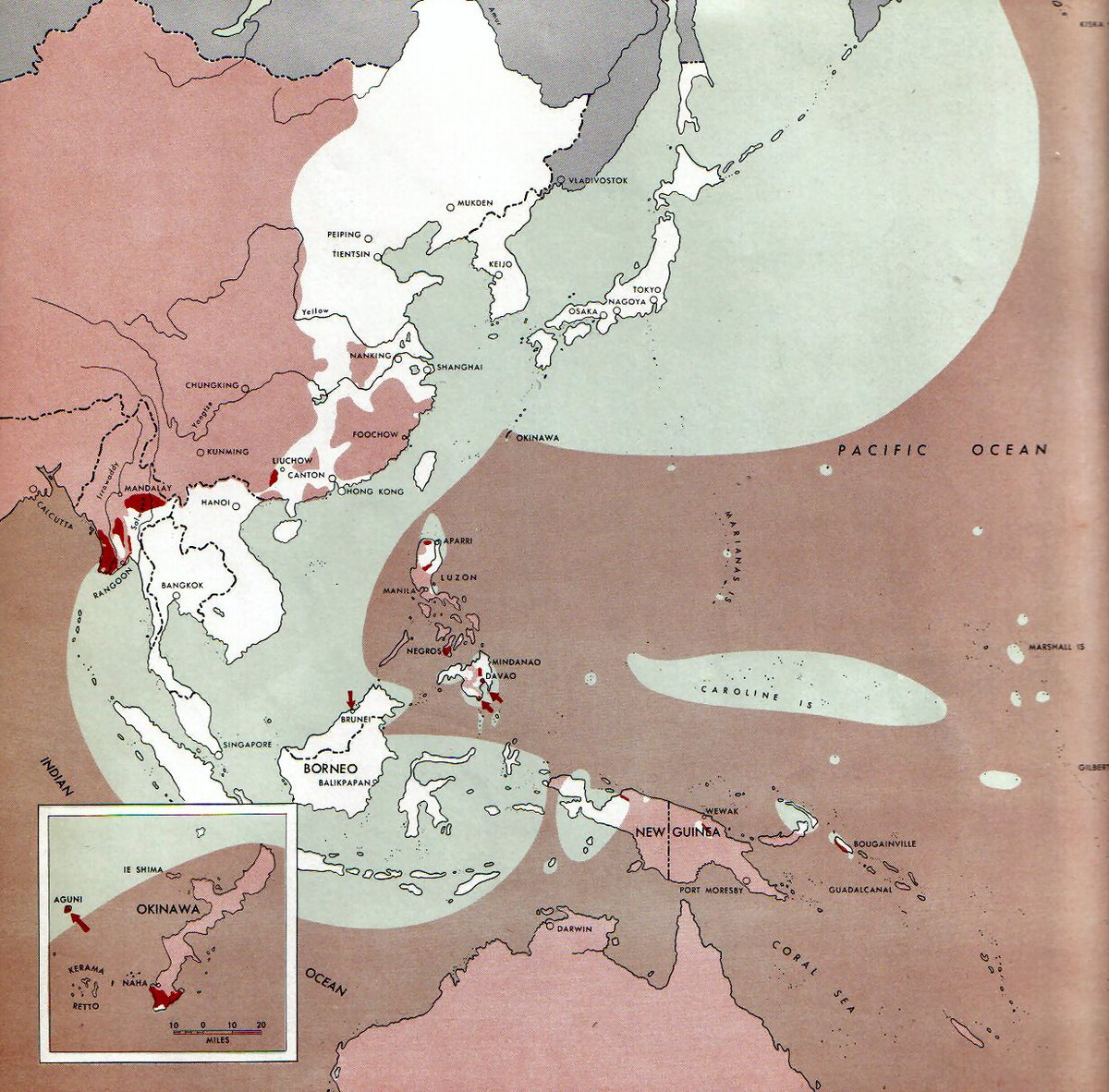 WW2 Tweets from 1940 on Twitter US map shows 15 days of Allied