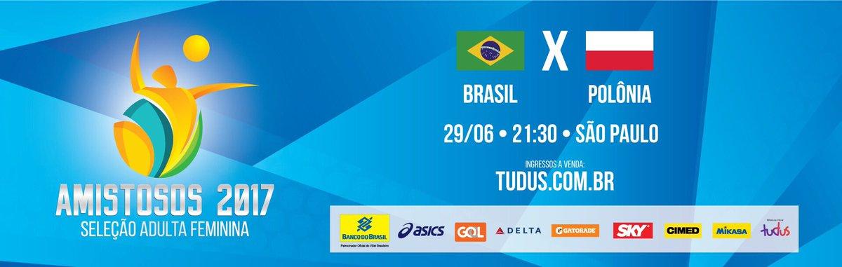 Atenção #TorcidaBrasil de SP!  A pré-venda do jogo 🇧🇷x🇵🇱 começou! E pra melhorar, cliente BB tem desconto. 🏐💛😉