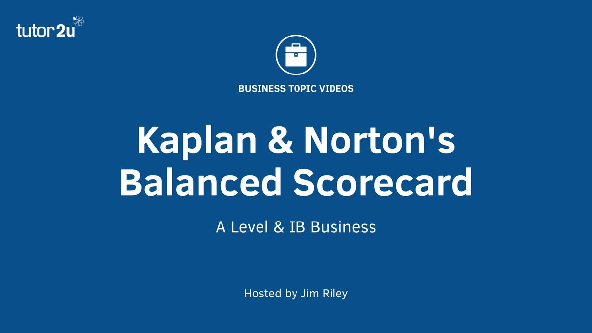 #BusinessStrategy: Kaplan &amp; #Norton&#39;s Balanced Scorecard  http:// bit.ly/2rZWivK  &nbsp;  <br>http://pic.twitter.com/QNb9TsFjaD