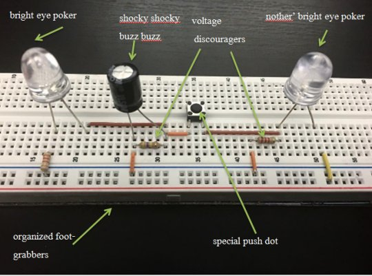 A very educational electronics diagram • r/electronics
