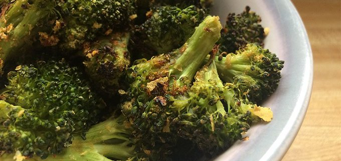 Crispy Miso Broccoli
