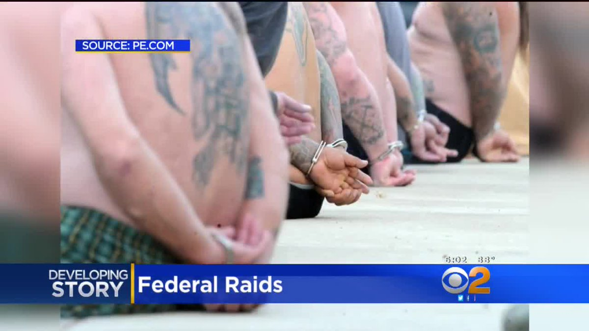 DOJ Sweep of Vagos Outlaw Motorcycle Gang Nets Members in Southern California https://t.co/EuGBHYRfIa