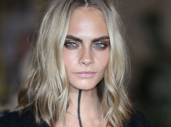 Cara Delevingne's Body Art Might Replace The Choker Trend