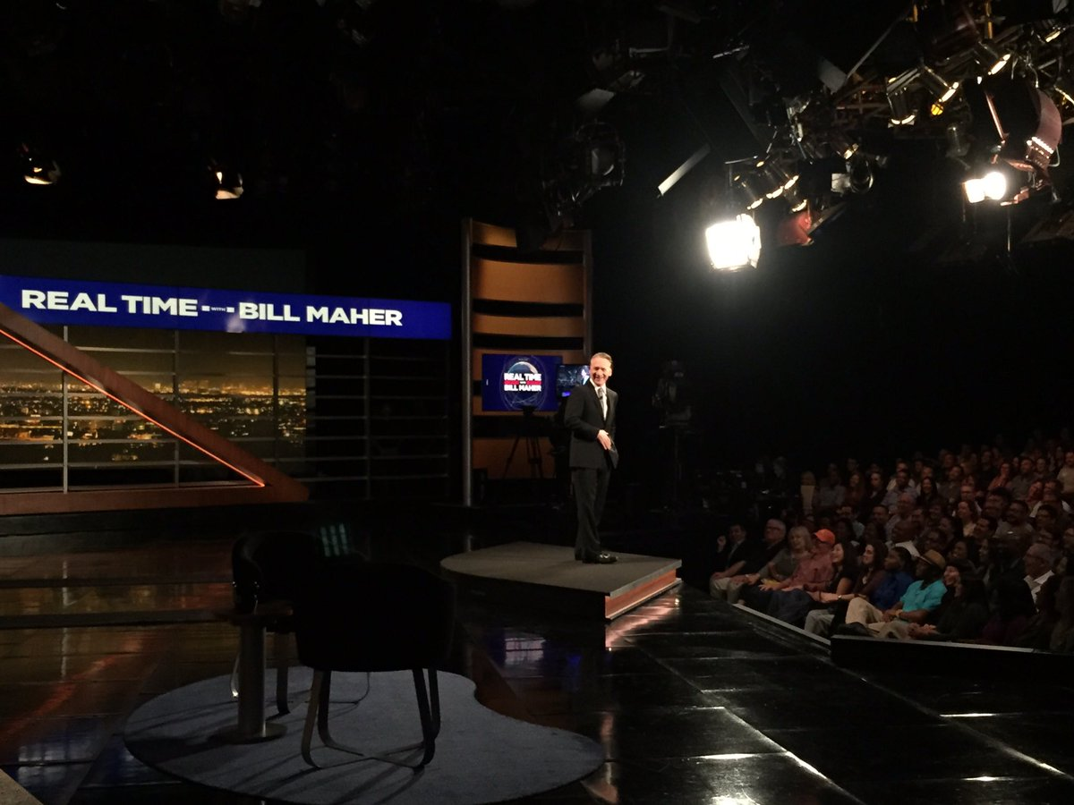 #StartTheClock! @BillMaher is LIVE with @AlexMarlow @ianbremmer @Malco...