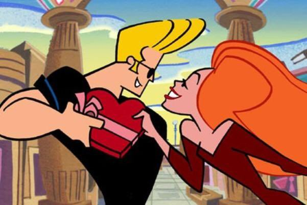Johnny Bravo, he took 'shoot your shot' to the next level, what is a curve?