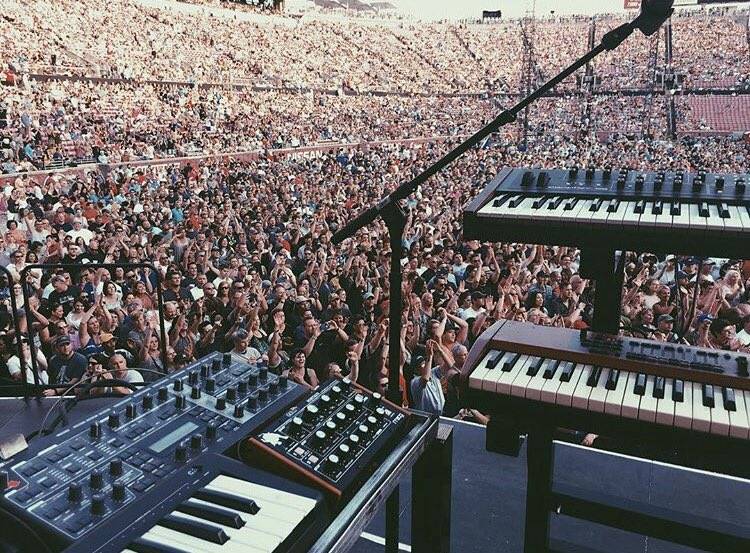 Opening for @U2 tonight in Kentucky: Not a bad view:::
