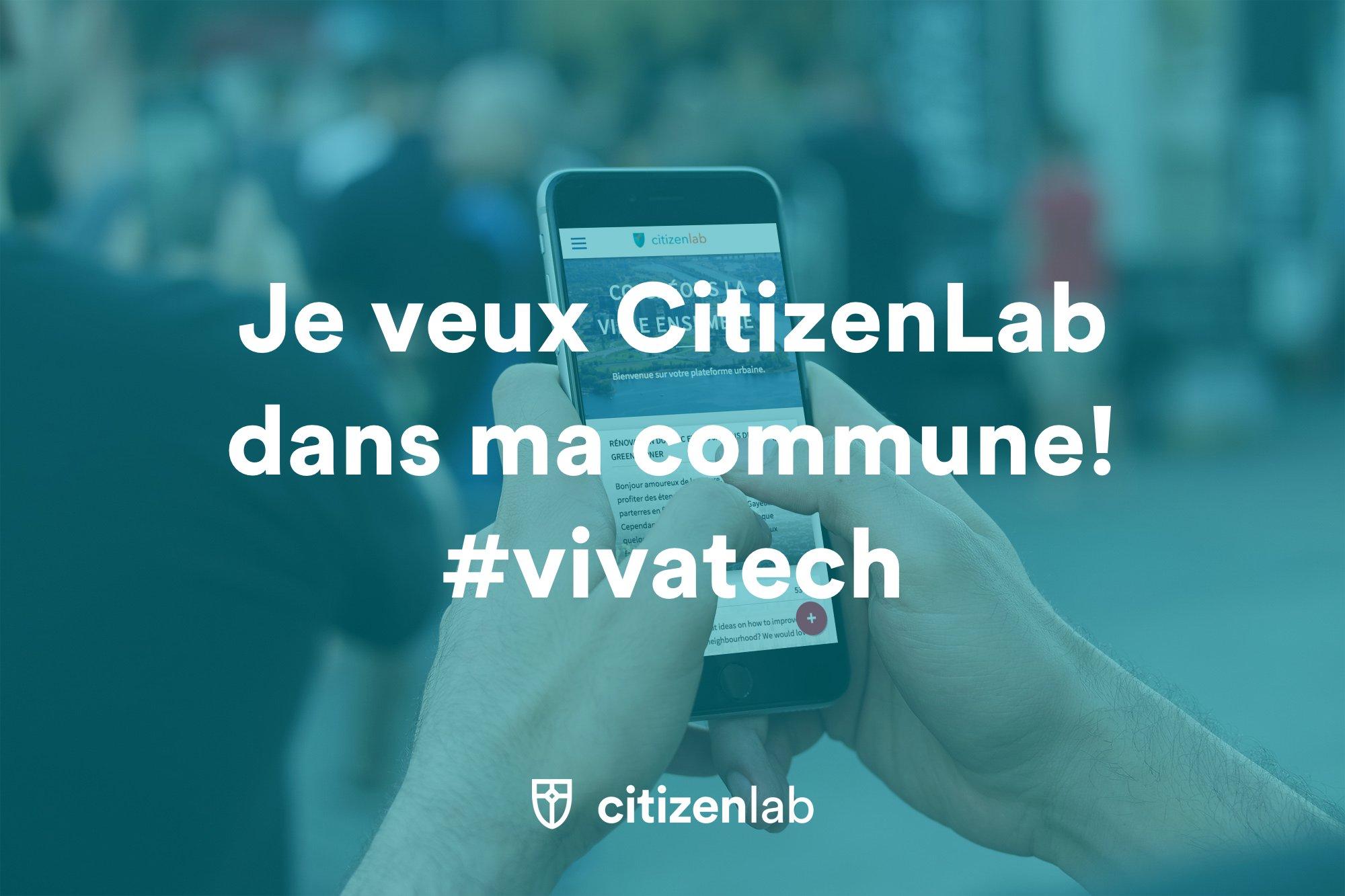 #vivatech #civictech Tu veux participer à la prise de décision dans ta ville ?? retweet et tag @taville ✊✊ https://t.co/bFuNHR0REQ