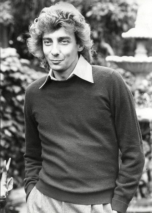 Happy birthday to Barry Manilow. Photo by Neville Marriner, 1980.