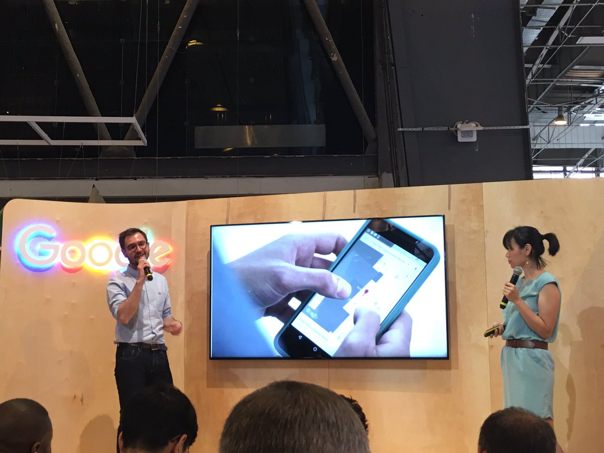How @Google &amp; @SNCF work together for travelers @VivaTech #garedelyon <br>http://pic.twitter.com/46Axuawy32