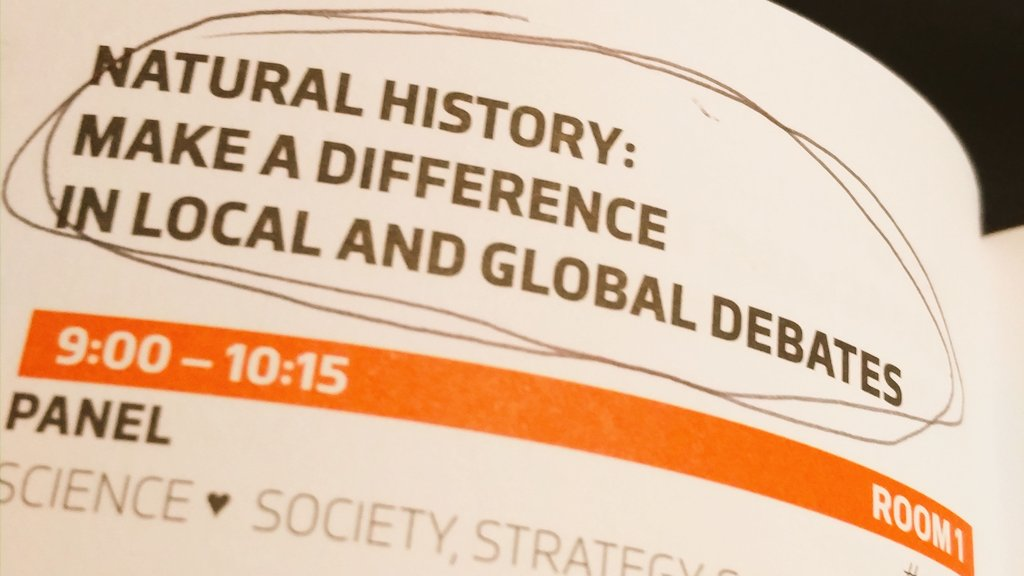 Looking forward t discussing natural history w H King, A Caola & J Ayer - and YOU! #Room1 #Ecsite2017 https://t.co/jJXj7M74xH