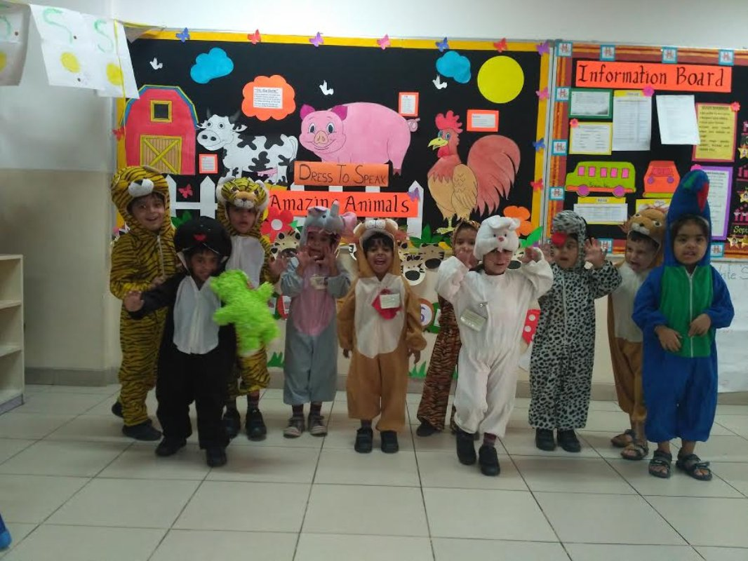 Students of #MRIS CW participated in a colouful &#39;Dress to speak&#39; activity on #GES theme &#39;Amazing animals&#39; More pics@  http:// goo.gl/Tgjwcb  &nbsp;  <br>http://pic.twitter.com/YjqvdfniU8