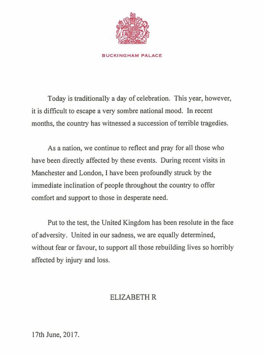 Says it perfectly. #QueensBirthday pic.twitter.com/SkAz1aFHaU