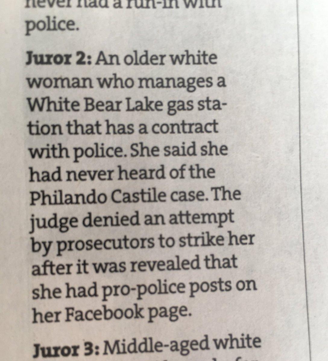 A few of the jurors. #PhilandoCastile https://t.co/gThKq80dQr