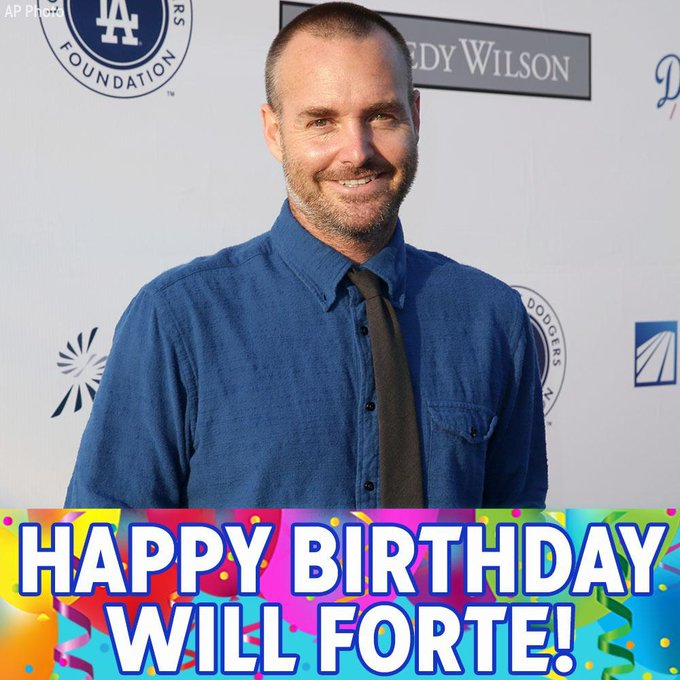 Happy Birthday to comedian Will Forte!