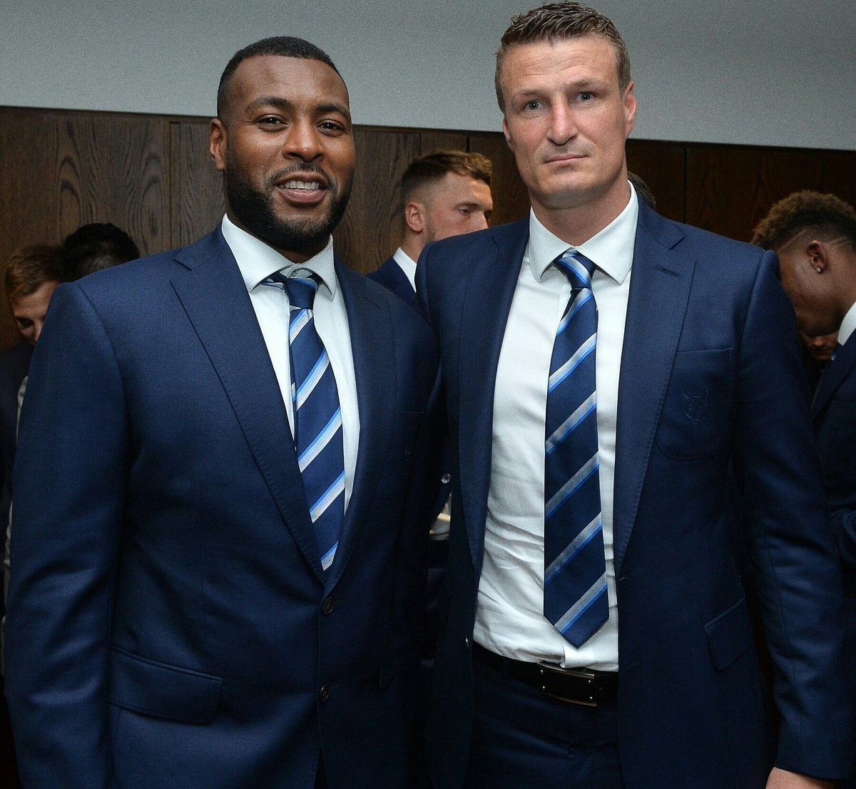 So, who partners Harry Maguire next season?   RT - Robert Huth Like - Wes Morgan  #lcfc #BlueArmy #Huth #Morgan #Maguire<br>http://pic.twitter.com/0NaDwagVWk