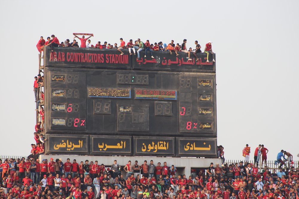 A throwback to the 2013 #CAFCL final…  An experience in Cairo that I will never forget. https://t.co/Adl4Gdg3JI