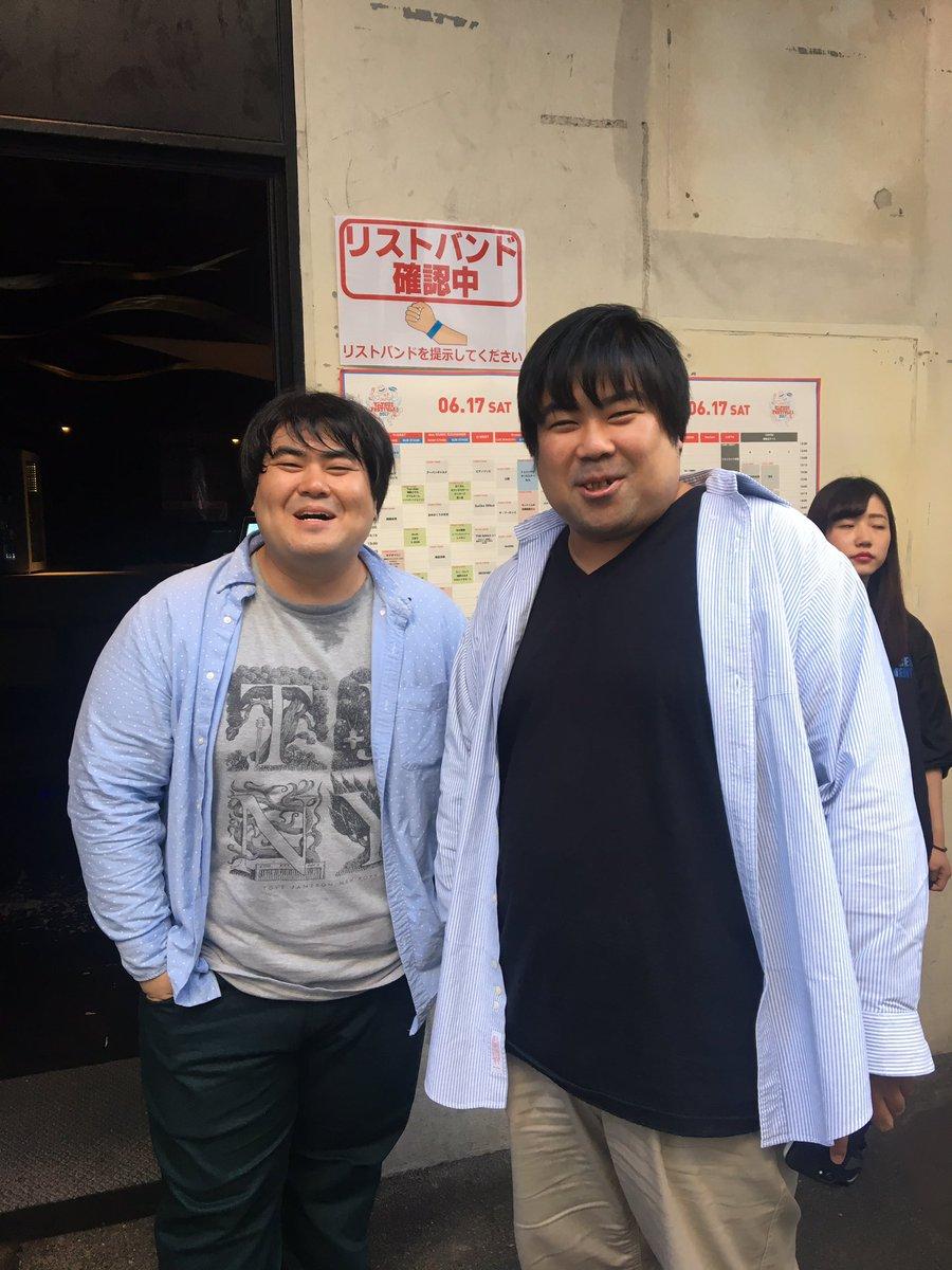アソビシステムの中川社長と初めてお会いしました!に……にてる……! https://t.co/QwHOiRv55D