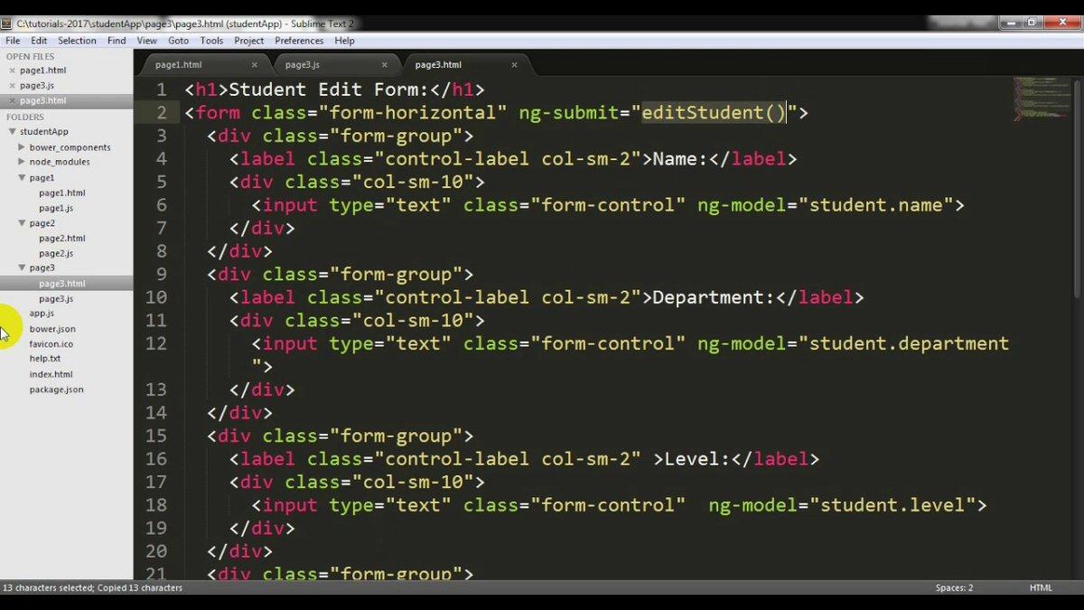 Students App Part-2 : AngularJS CRUD with Firebase NoSQL Database ⋅ Dataloco