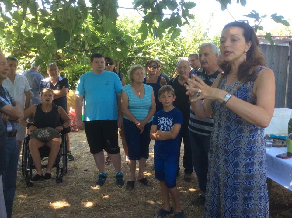 Une belle rencontre avec l'association des Jardins Ouvriers Coder pour faire le point sur nos projets communs en association avec la Mairie