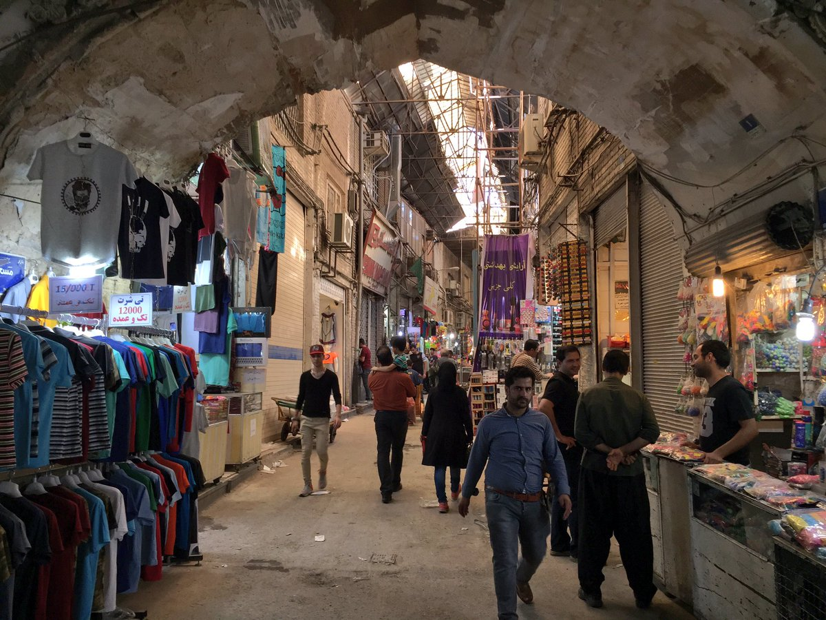 The largest bazaar in the Middle East 92