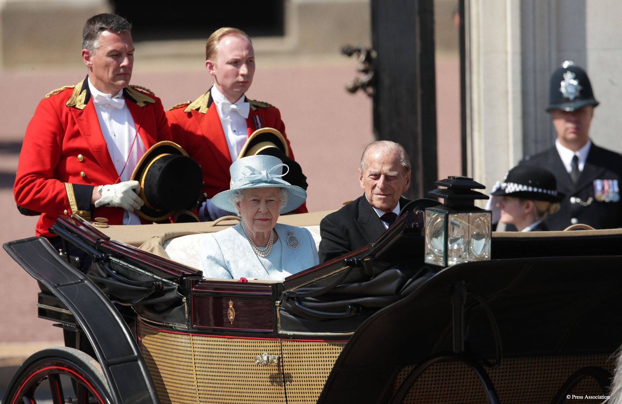 Thumbnail for Queen Elizabeth II celebrates 'official' birthday with Trooping the Color parade