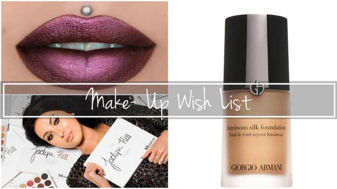 Make-Up Wish List