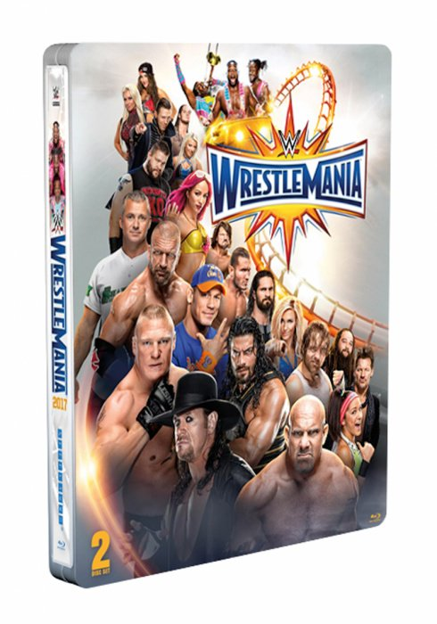 Don't forget our #FathersDay weekend competition! FOLLOW & RT for a chance to win a #WrestleMania steelbook! pic.twitter.com/P5vMFEaRAO