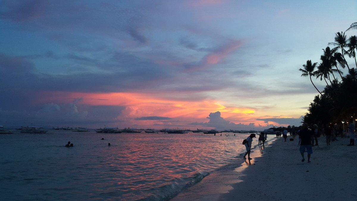 DChdyvrUIAAMfy_ - Sunset in Alona Beach, Panglao, Bohol - Bohol Tourism | Bohol Travel & Tour