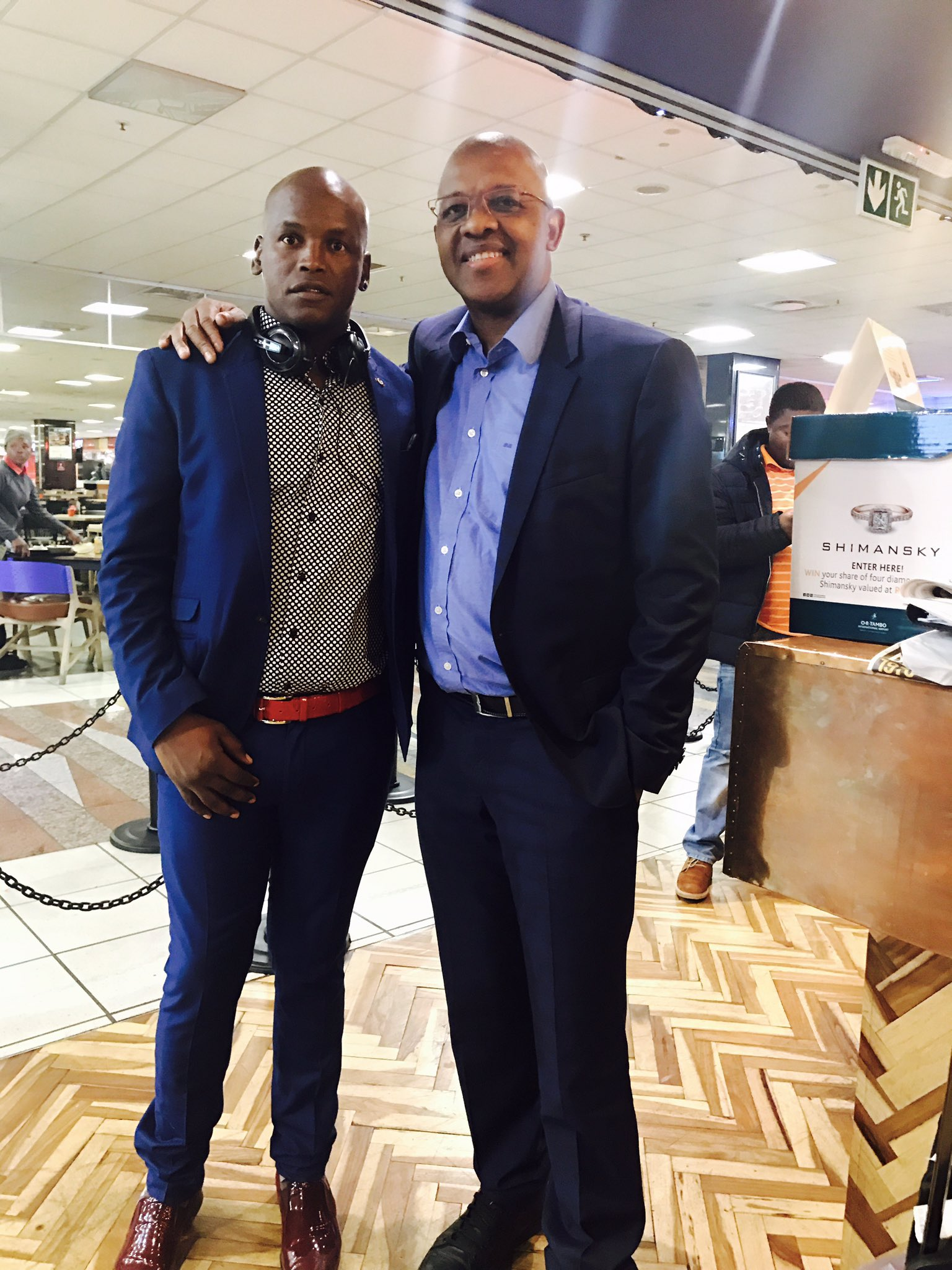 "Dali Mpofu on Twitter: ""Bumped into President Benny ..."