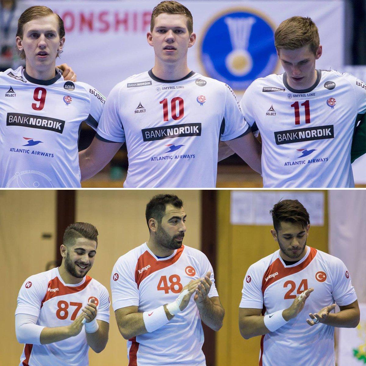 Turkey &amp; Faroe Islands are the 2017 Emerging Nations Men&#39;s Championship finalists  #EmergingNations #Turkey #FaroeIsnads #IHF #Handball <br>http://pic.twitter.com/gEPmX3fz8g