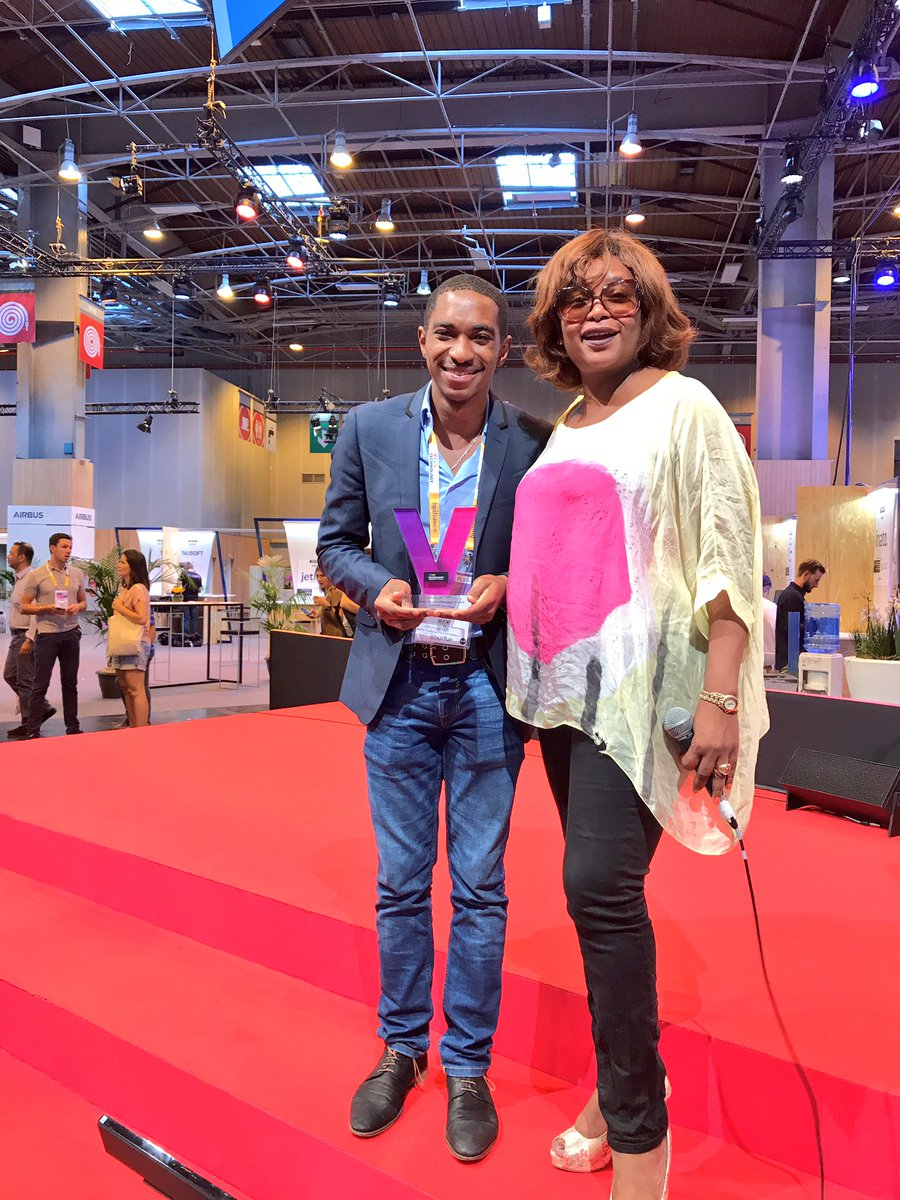 #VivaTech And the winner is: @wecashup! Cameroon