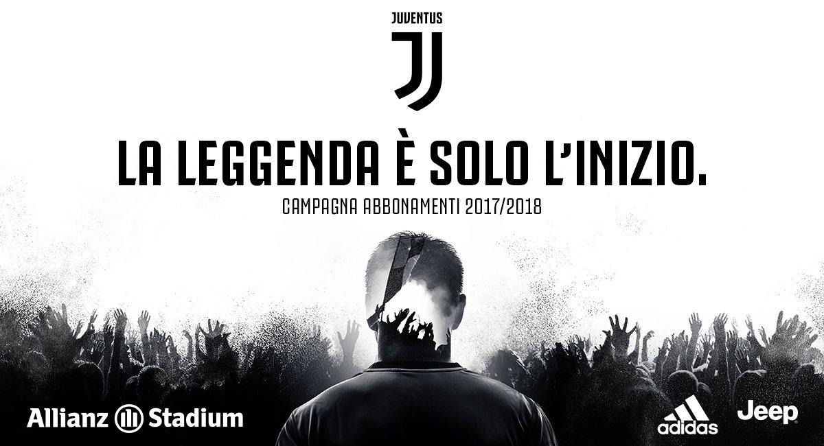 La leggenda è solo l'inizio, ti aspettiamo all'Allianz Stadium: https:...