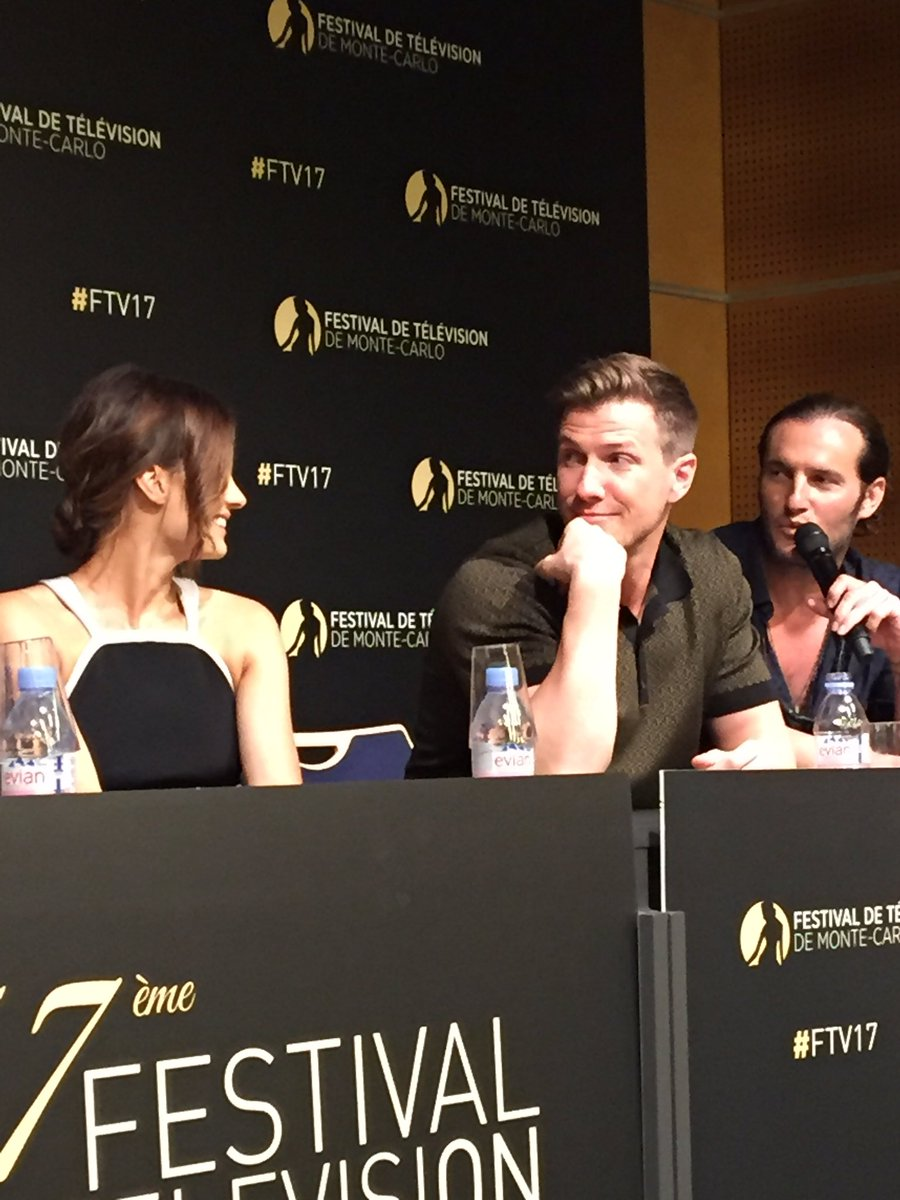 They were so sweet &amp; funny #ABSENTIA   Patrick said that one of the best scenes he shot in his career were with Stana <br>http://pic.twitter.com/JVcaLYWYzm