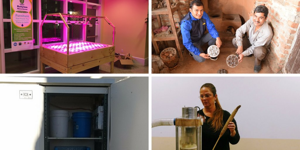 """Last but not least, here are the #InfyMakers Awards winners in the category """"combating hunger"""" @fldrdy #WeekOfMaking https://t.co/scLLK1wWIR https://t.co/DbNhigHpf6"""