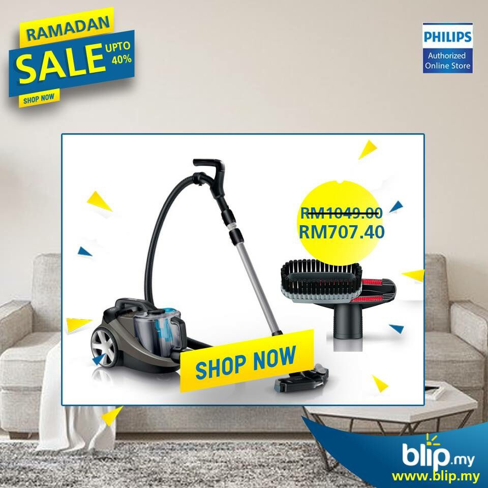 Philips Power Pro Expert Bagless Vacuum Cleaner is what you need for daily use.  Shop Now!  Link: https://t.co/8aic9CYj5v  #Blipmy #Ramadan https://t.co/aV1XH2iv95