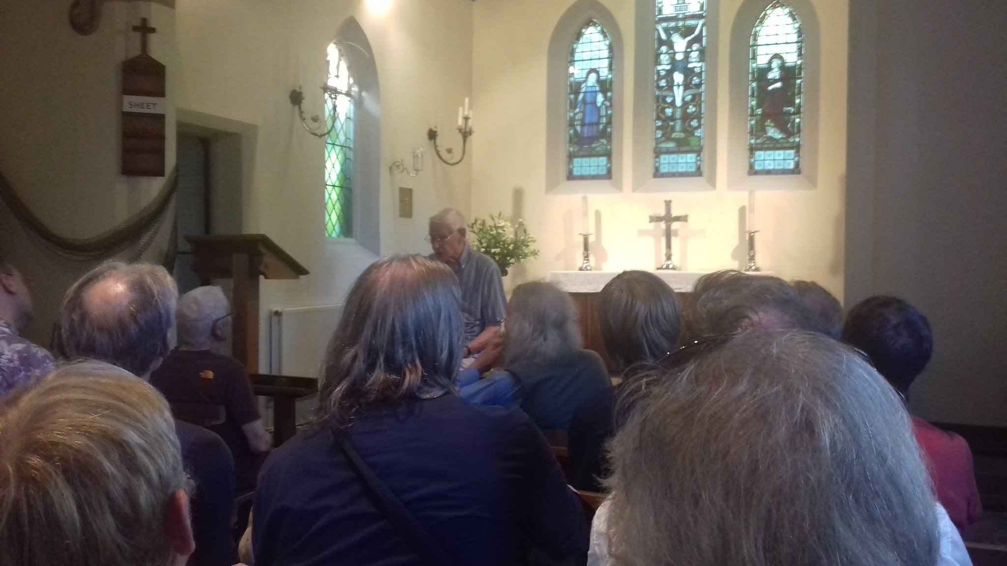 Talk in Heronsgate chapel @ChartismDay2017 https://t.co/ruifgdhAof