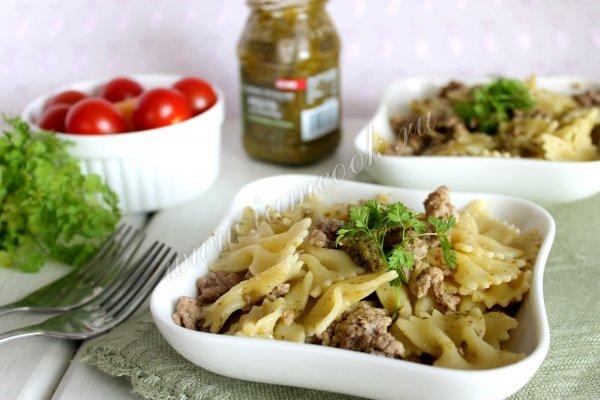 Рецепт макарон с соусом