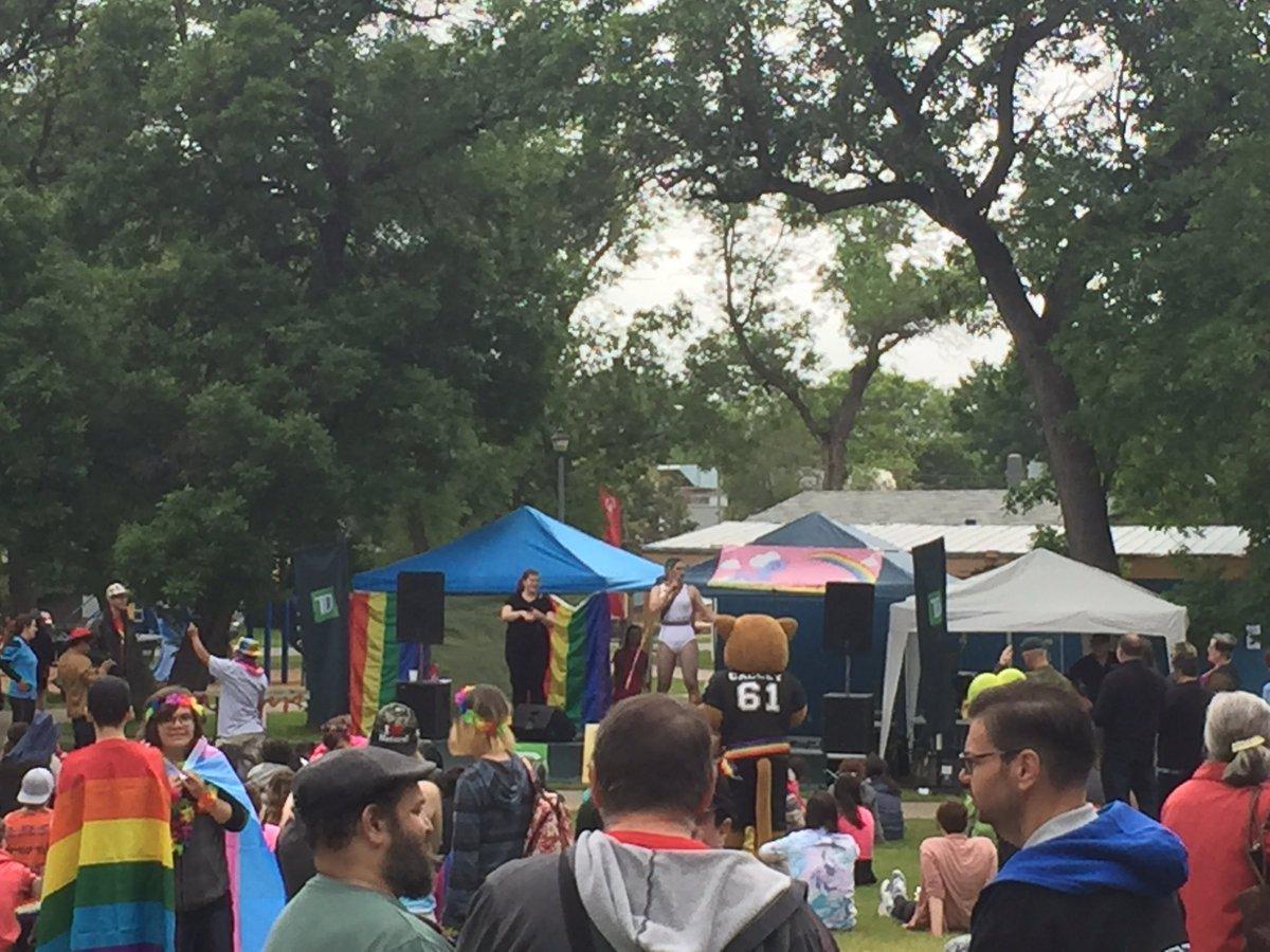 Proud to support Brandon Pride #foreverproud #brandon <br>http://pic.twitter.com/fRCtLcg9yr &ndash; bij Stanley Park